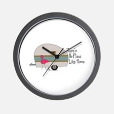 theres no place like home Wall Clock