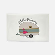 Id Rather Be Camping Magnets