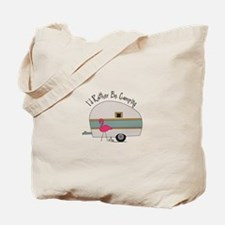 Id Rather Be Camping Tote Bag