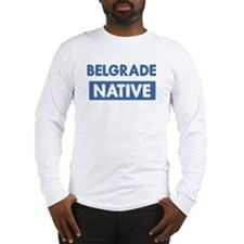 BELGRADE native Long Sleeve T-Shirt