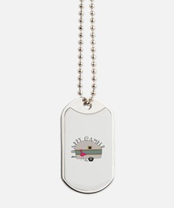 Happy Camper Dog Tags