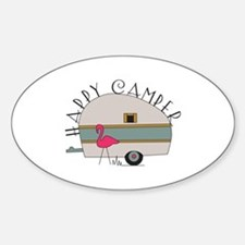 Happy Camper Bumper Stickers
