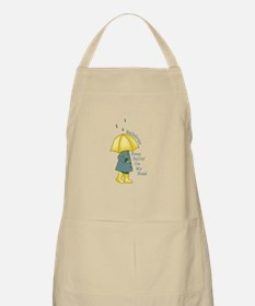 Raindrop Saying Apron