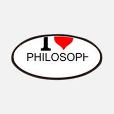 I Love Philosophy Patch