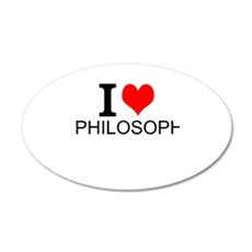 I Love Philosophy Wall Decal