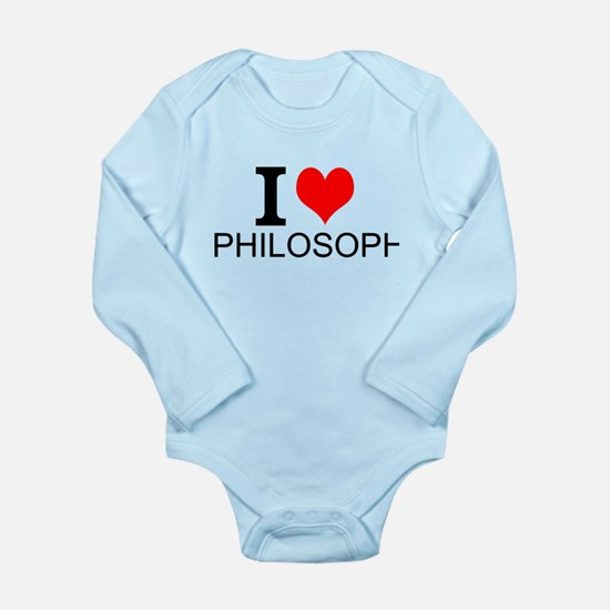 I Love Philosophy Body Suit