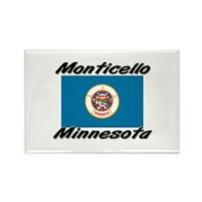 Monticello Minnesota Rectangle Magnet