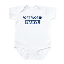 FORT WORTH native Infant Bodysuit