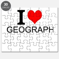 I Love Geography Puzzle