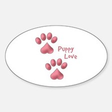 Puppy Paw Saying Decal