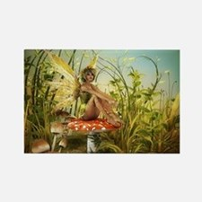 Indian Summer Fairy Rectangle Magnet