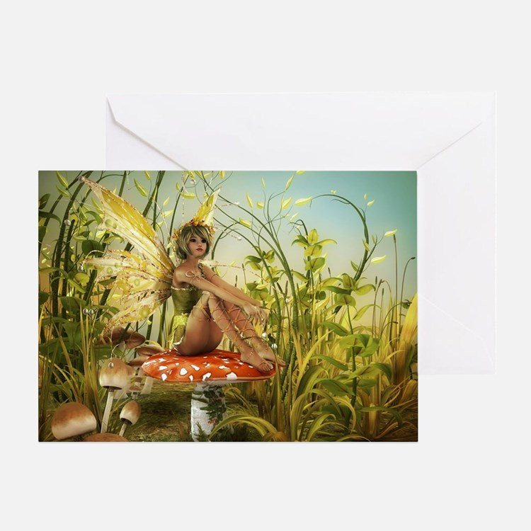 Indian Summer Fairy Greeting Card