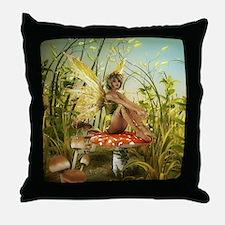 Indian Summer Fairy Throw Pillow