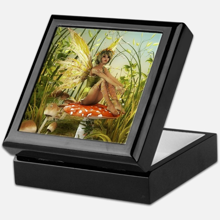 Indian Summer Fairy Keepsake Box