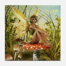 Indian Summer Fairy Tile Coaster
