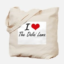 I love The Dalai Lama Tote Bag