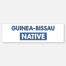 GUINEA-BISSAU native Bumper Bumper Bumper Sticker