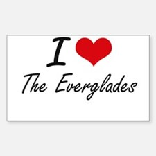 I love The Everglades Decal