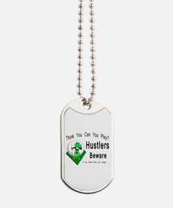 Hustlers Pool Playing Frog Dog Tags