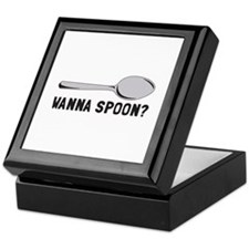 Spoon Saying Keepsake Box
