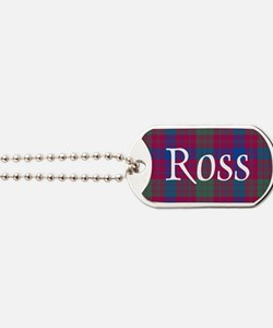 Tartan - Ross Dog Tags