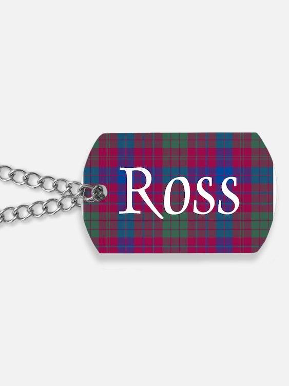 Tartan - Ross Dog Tags