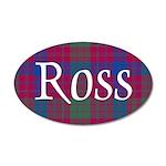 Tartan - Ross 20x12 Oval Wall Decal