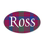 Tartan - Ross 35x21 Oval Wall Decal