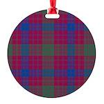 Tartan - Ross Round Ornament