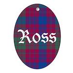 Tartan - Ross Oval Ornament