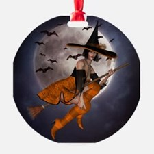 Halloween Witch Ornament