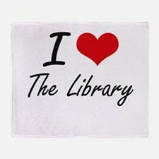 I love The Library Throw Blanket