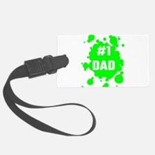 Number One Dad Luggage Tag