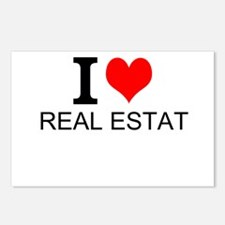 I Love Real Estate Postcards (Package of 8)