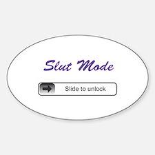 Slut Mode - Slide to unlock Decal