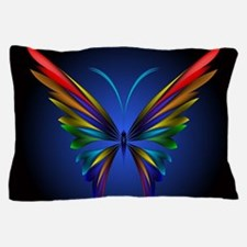 Abstract Butterfly Pillow Case