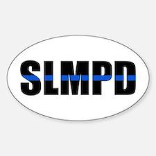 SLMPD Blue Line Oval Decal