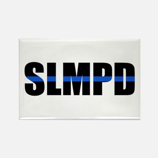 SLMPD Blue Line Rectangle Magnet