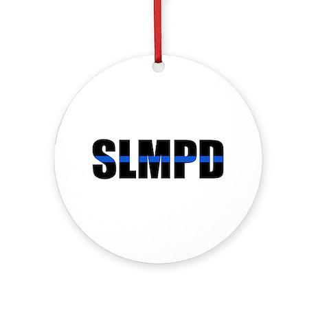 SLMPD Blue Line Ornament (Round)