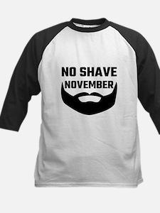 No Shave November Baseball Jersey