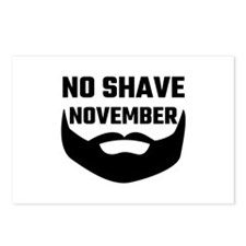 No Shave November Postcards (Package of 8)