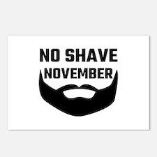 No Shave November Postcards (Package of 8)
