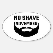 No Shave November Decal