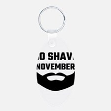 No Shave November Keychains