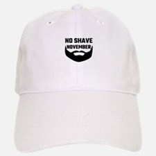 No Shave November Baseball Baseball Cap