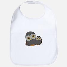 Two Owls Bib