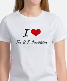 I love The U.S. Constitution T-Shirt