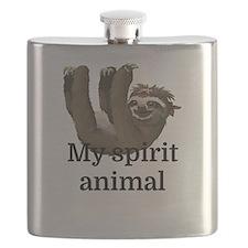 My Spirit Animal Flask