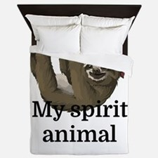 My Spirit Animal Queen Duvet