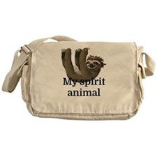 My Spirit Animal Messenger Bag